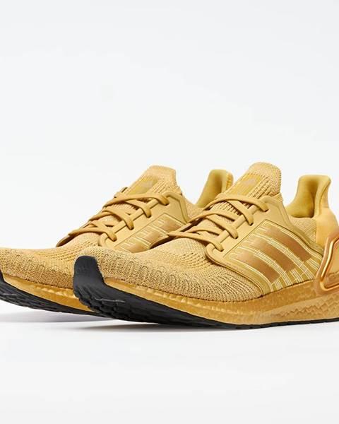 Žlté tenisky adidas Performance