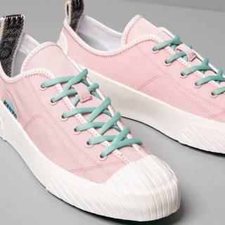 Kenzo Volkano Low Top Sneakers Rose Clair