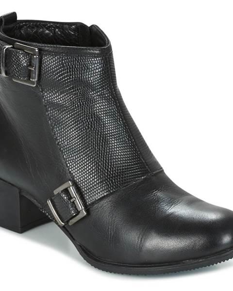 Čierne topánky Andrea Conti