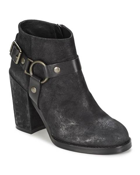 Čierne topánky Ash