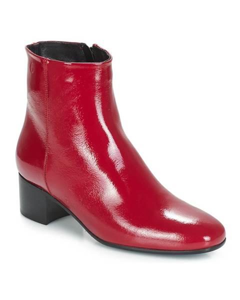 Červené topánky Betty London