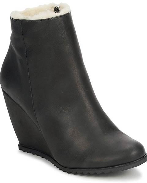 Čierne topánky D.Co Copenhagen