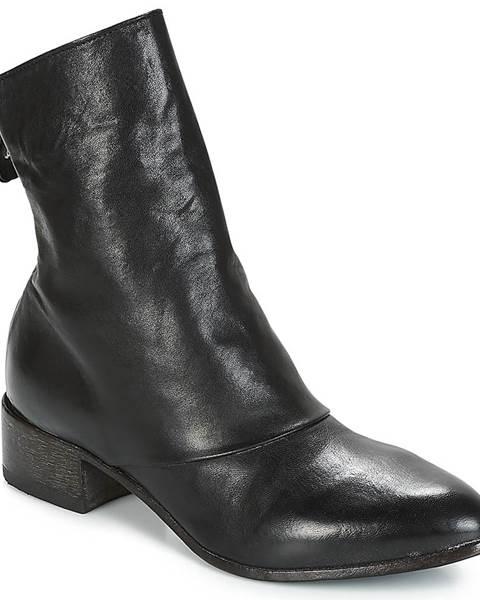 Čierne topánky Moma