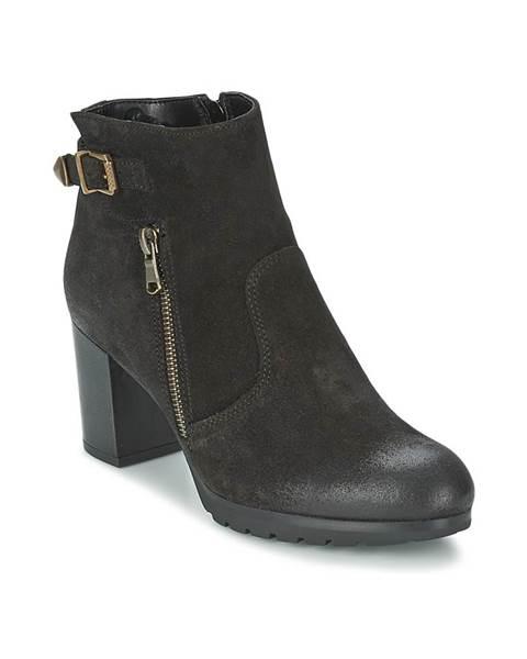 Čierne topánky Samoa