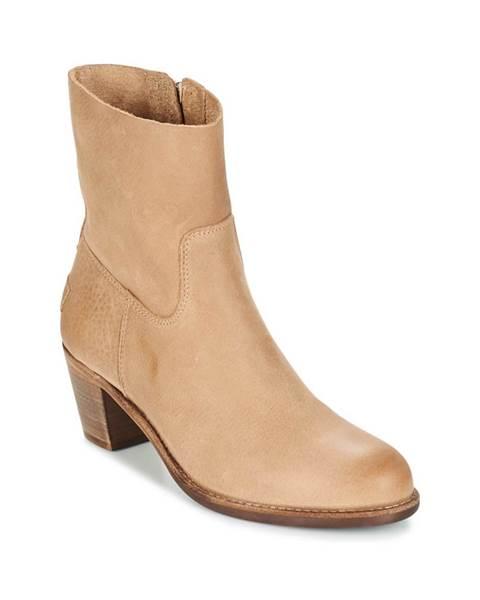 Hnedé topánky Shabbies