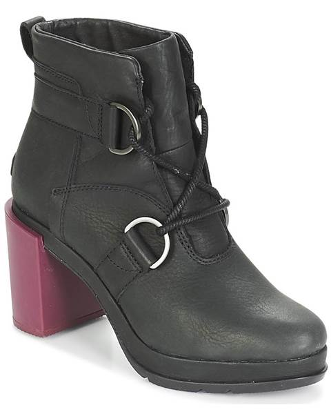 Čierne topánky Sorel