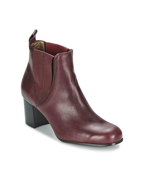 Červené topánky Stephane Gontard