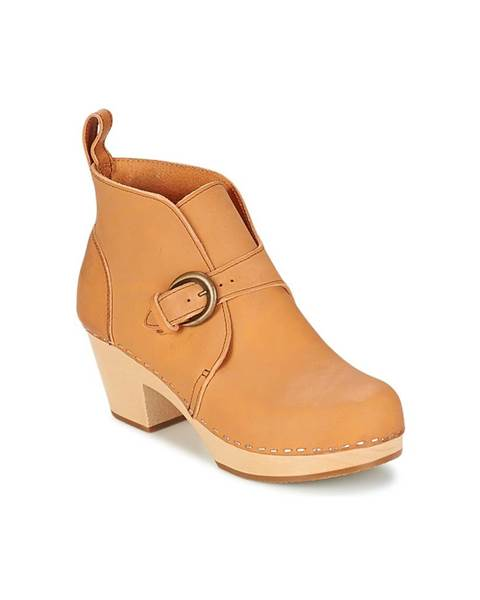 Béžové topánky Swedish hasbeens