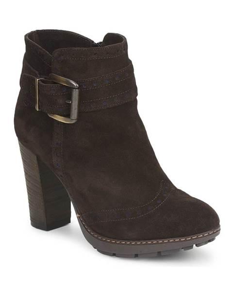 Hnedé topánky Tosca Blu