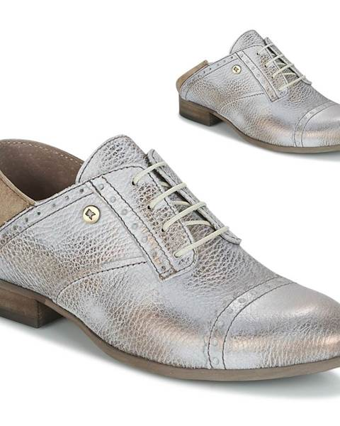 Strieborné topánky Dkode