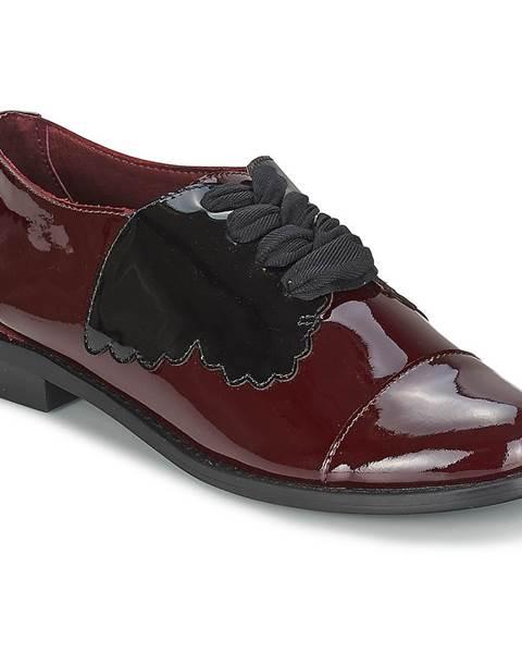 Červené topánky F-Troupe