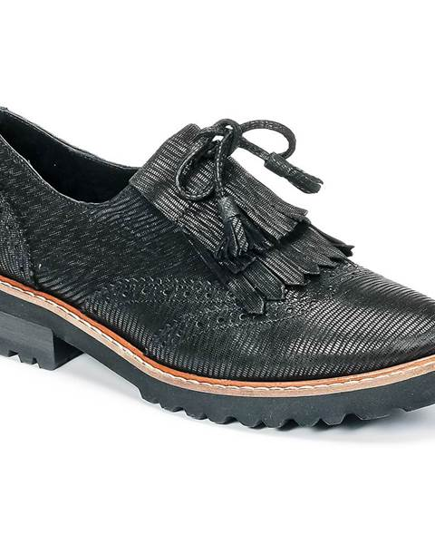 Čierne topánky Philippe Morvan