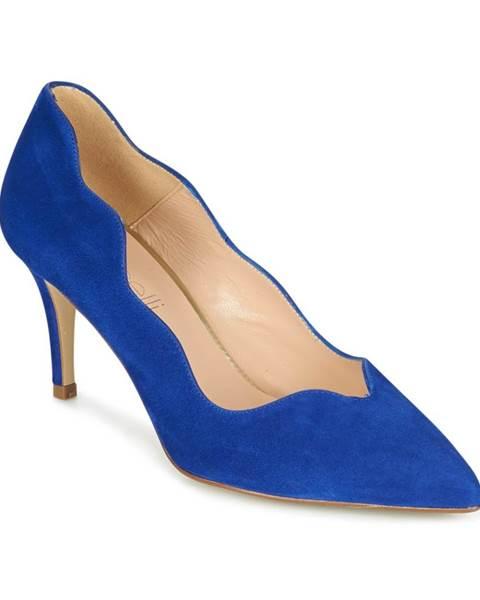 Modré lodičky Fericelli