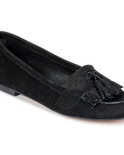 Čierne mokasíny Betty London