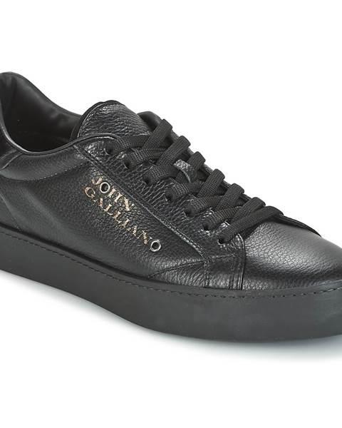 Čierne tenisky John Galliano