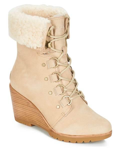 Béžové topánky Sorel