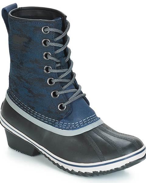Modré topánky Sorel