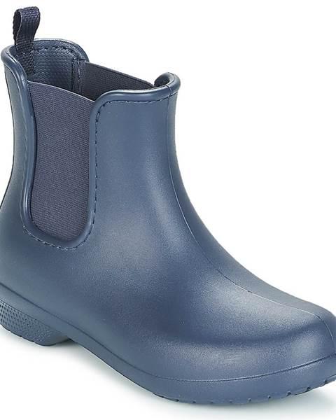 Modré polokozačky Crocs