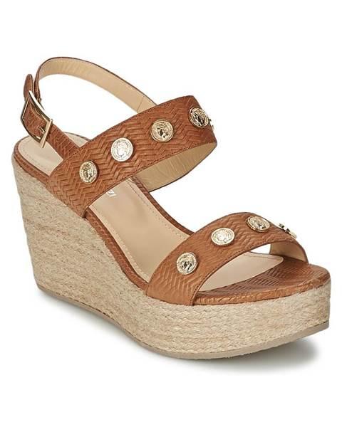Hnedé sandále Alberto Gozzi