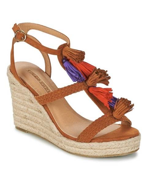 Hnedé sandále Buffalo