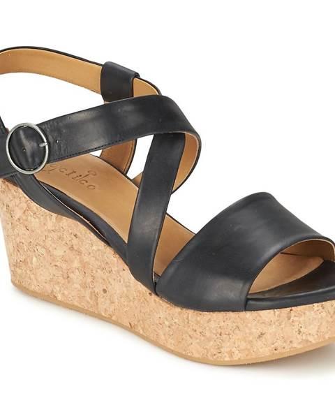 Čierne sandále Coclico