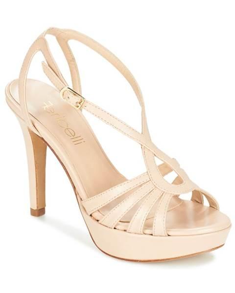 Béžové sandále Fericelli