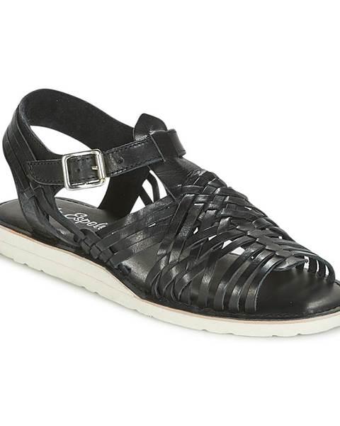 Čierne sandále Lola Espeleta