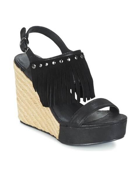 Čierne sandále LPB Shoes