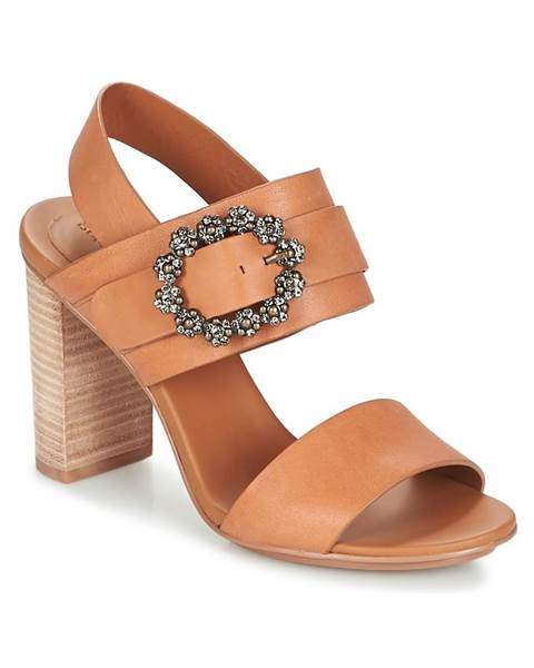 Hnedé sandále See by Chloé