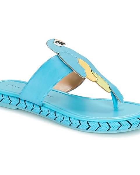 Modré topánky Katy Perry