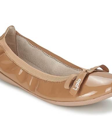 Hnedé balerínky LPB Shoes