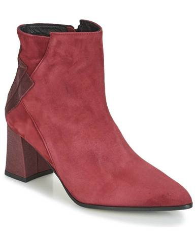 Bordové topánky Elizabeth Stuart
