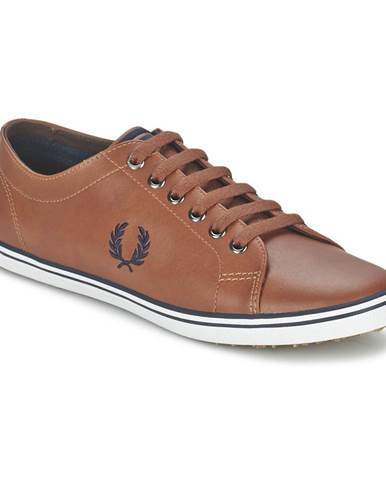 Hnedé tenisky Fred Perry