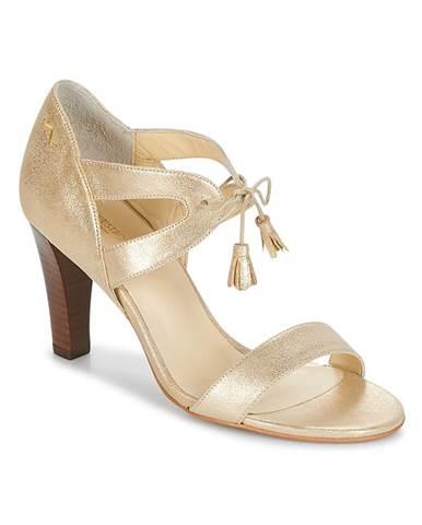 Zlaté sandále M. Moustache