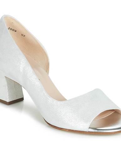 Biele sandále Peter Kaiser