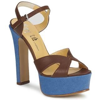Sandále Keyté  CUBA-LUX-MARRONE-FLY-9