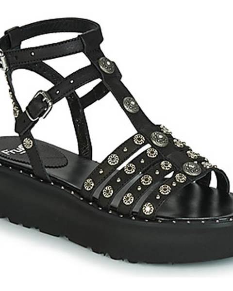 Čierne sandále Fru.it