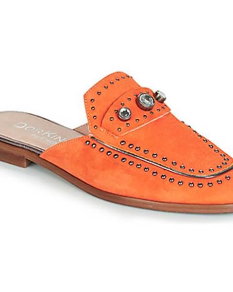 Oranžové topánky Dorking