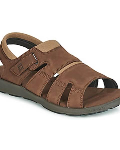 Hnedé športové sandále Columbia