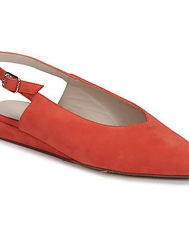 Červené balerínky Fericelli