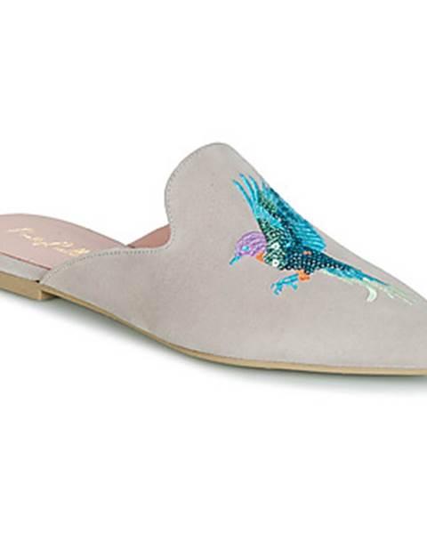 Hnedé topánky Pretty Ballerinas