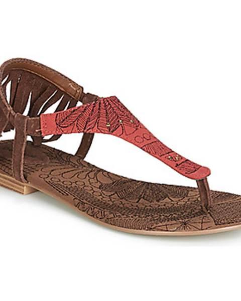 Hnedé sandále Desigual