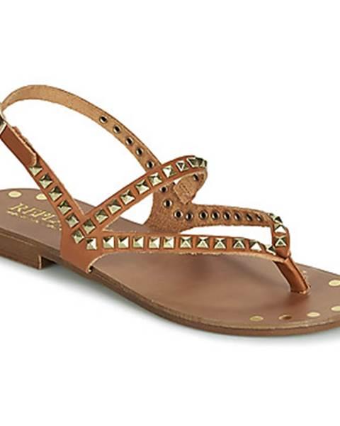 Hnedé sandále Replay