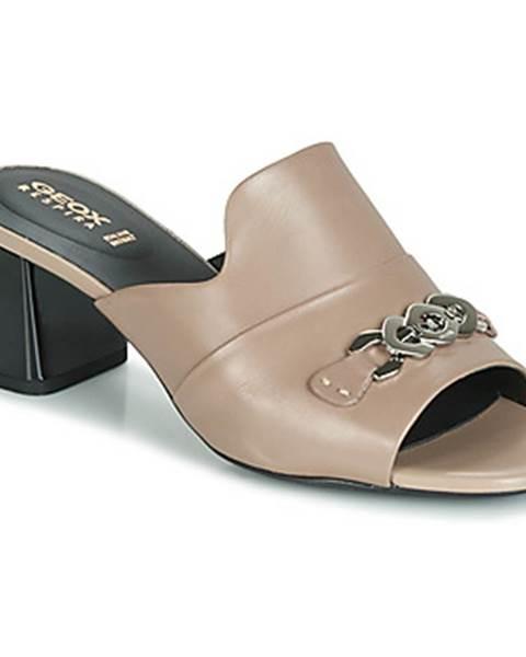 Béžové topánky Geox