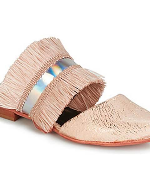Ružové topánky Papucei