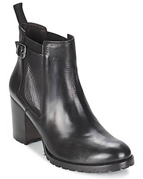 Čierne topánky Liebeskind