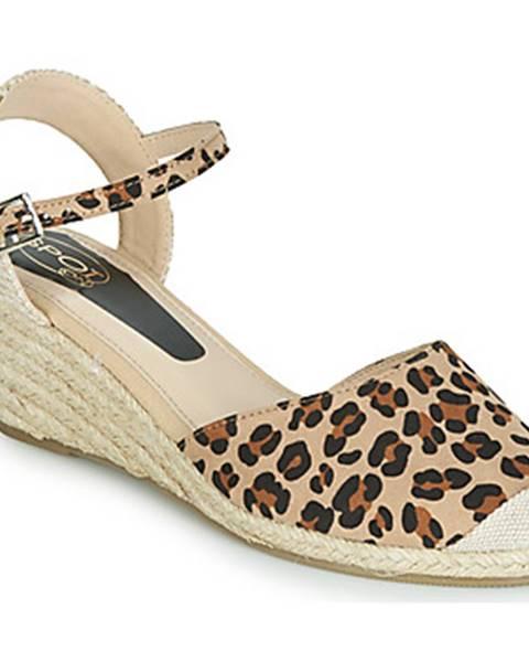 Béžové sandále Spot on