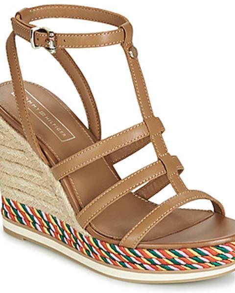 Hnedé sandále Tommy Hilfiger