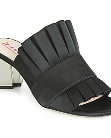Čierne sandále Minna Parikka