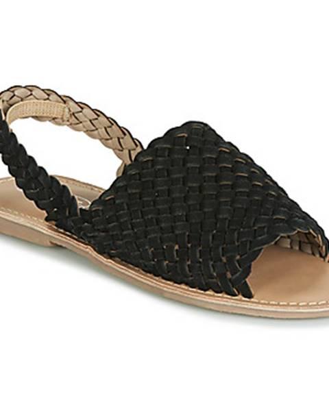 Čierne sandále Spot on